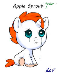 apple sprout by speckledmindphoenix