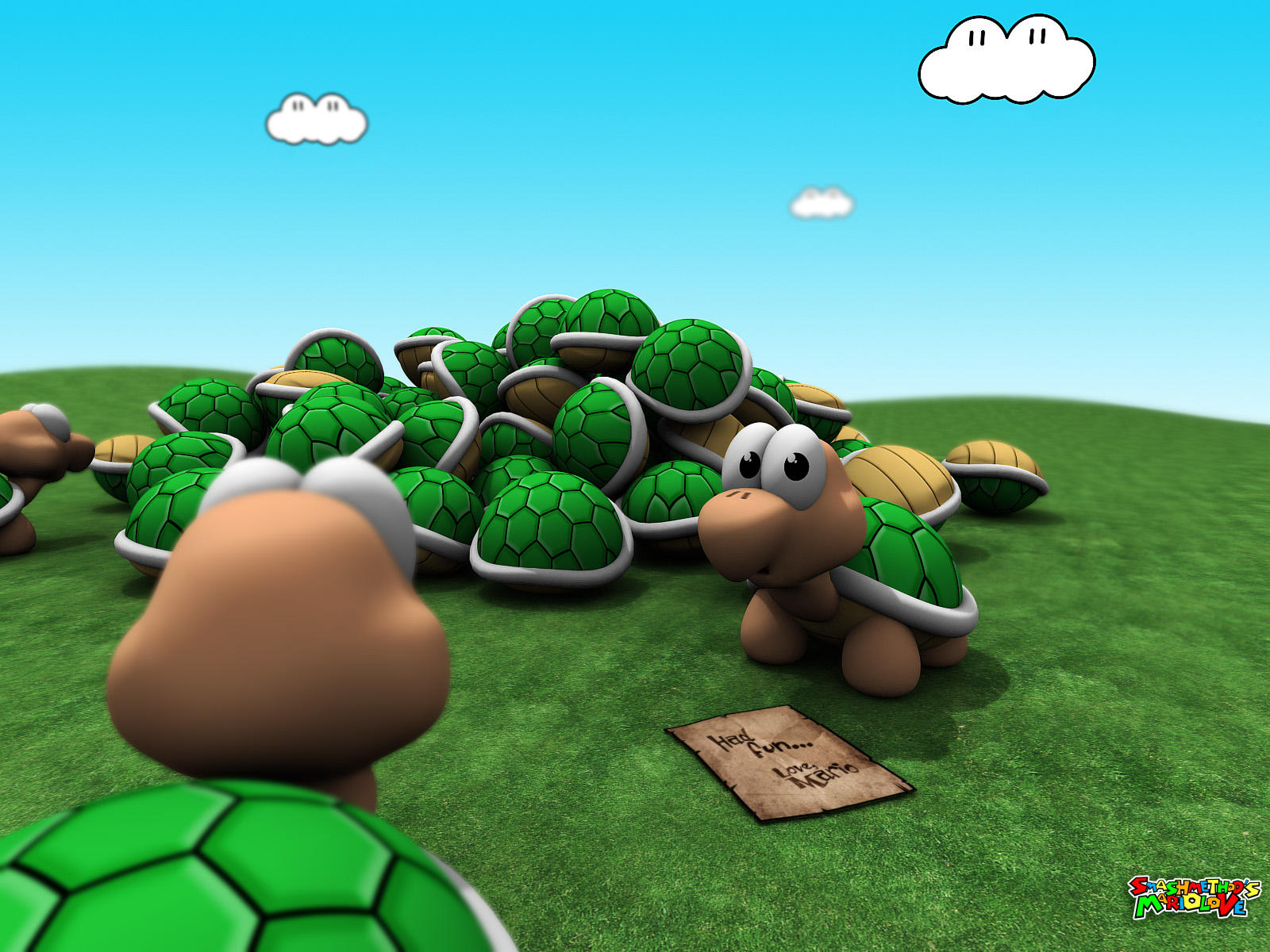 Mario love 5 by smashmethod