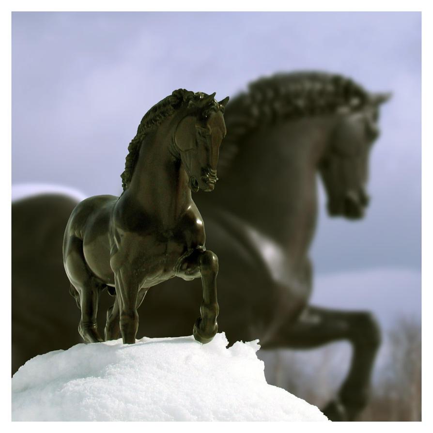 The Mini Massive Horses by smashmethod