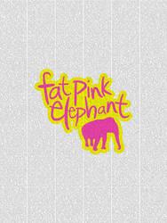 Fat Pink Elephant by smashmethod