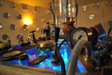 Custom TARDIS Console by crazyfoalrus