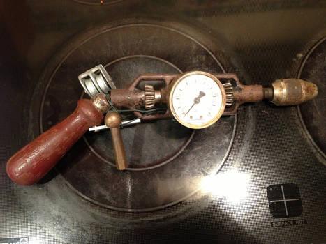 Scrap Steampunk Revolver