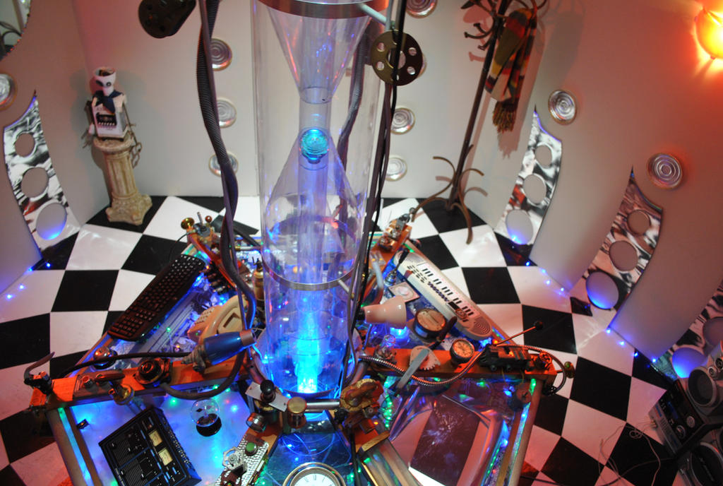 Homemade Tardis Console Room by J.P. Fox