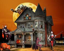 A Bounty Hunter's Halloween