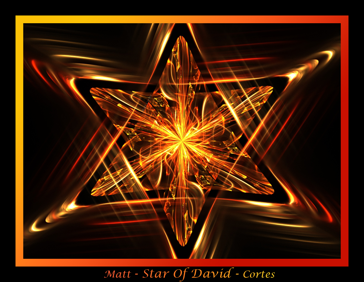 Star of David by DragonDork