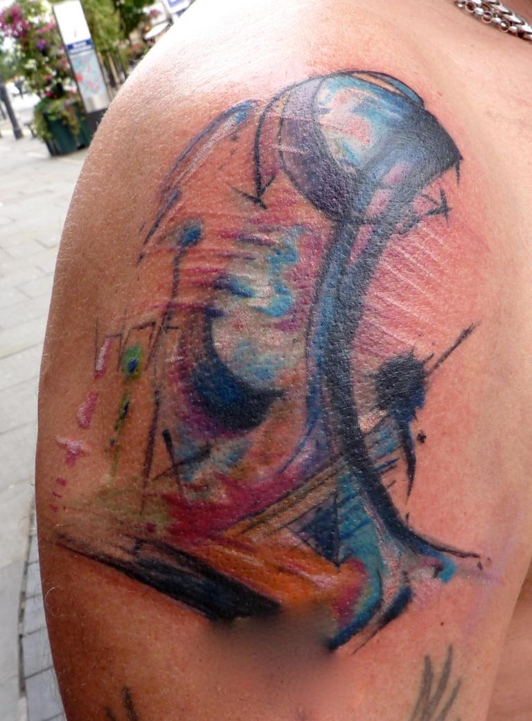 Tattoo abstract 2nd run by whiterabbittattoo on DeviantArt