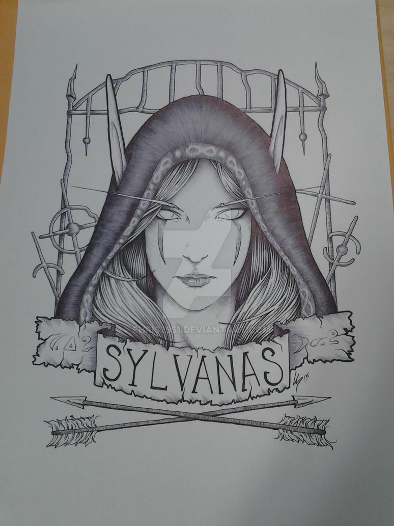 Sylvannas by Ehris2951