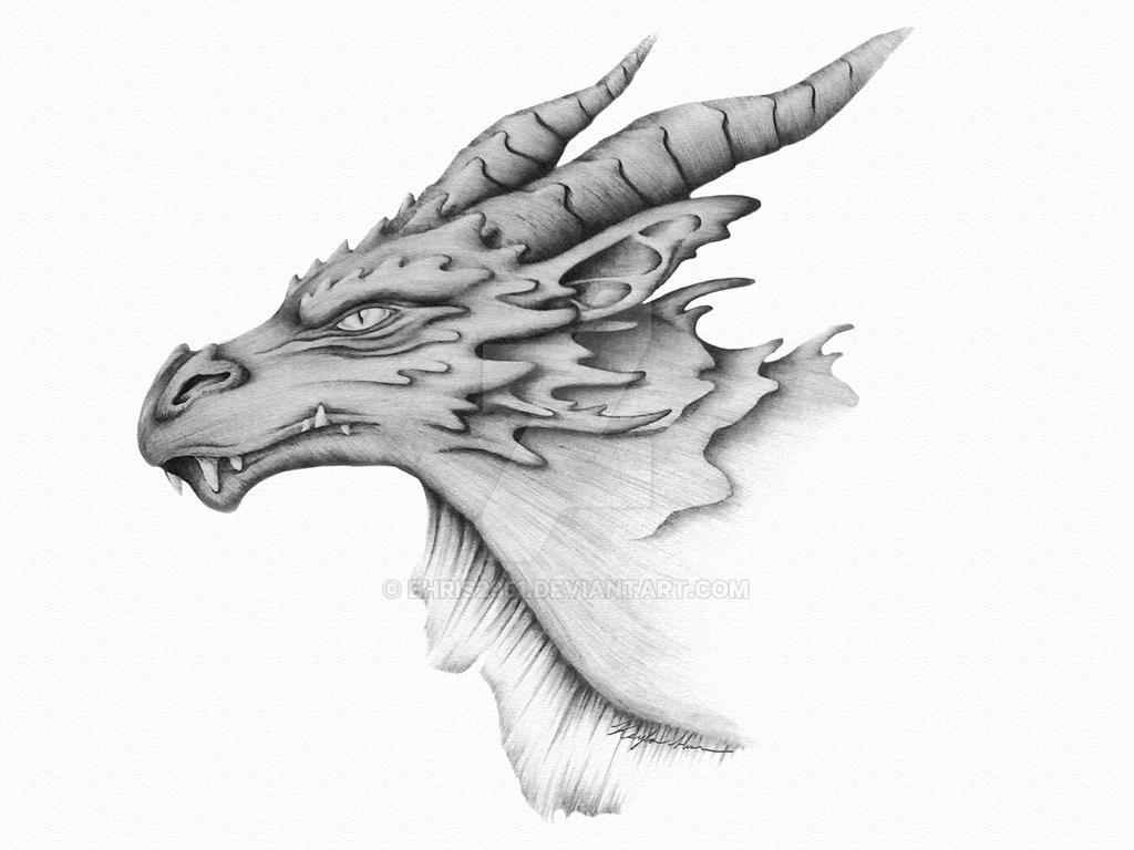 Dragon Portrait by Ehris2951