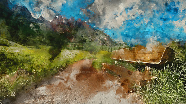 Wild nature landscape (12) by alexartro