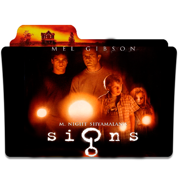 Signs 2002 Movie Folder By Matrixpath On Deviantart