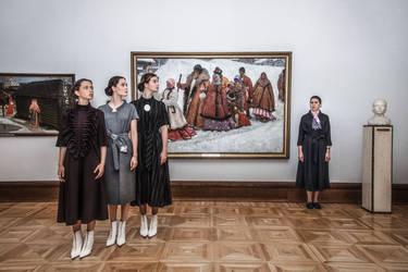 For VA x State Tretyakov Gallery by Anya Kozyreva