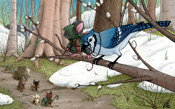 Mouse Guard: Pathfinders