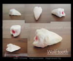 Wolf tooth -sculpture