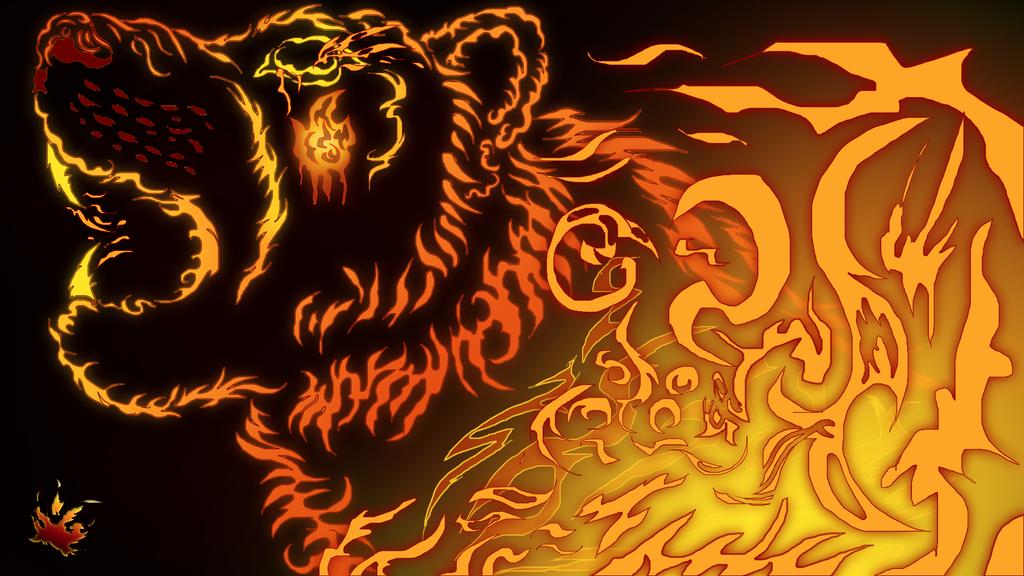 Fire Tiger Tribal