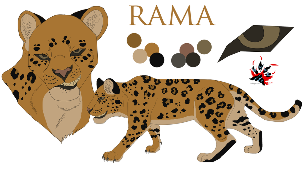 Rama Reference Sheet by Black-Tiger-of-Evil