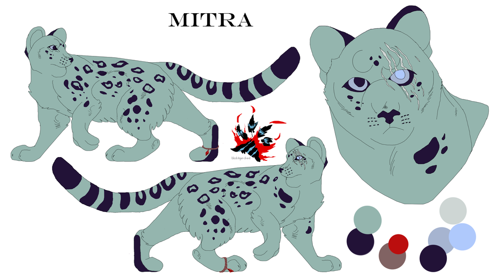 Mitra Reference Sheet by Black-Tiger-of-Evil