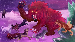 Demon Bear with Ohu Dogs
