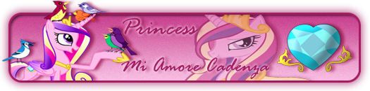 Princess Cadance forum signature by TWCSoarin