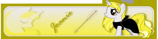 Joanie Forum signature by TWCSoarin