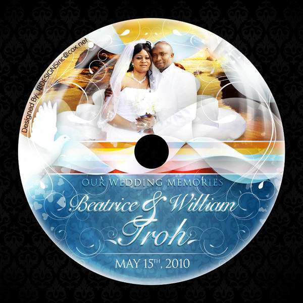 It's just a graphic of Breathtaking Personalised Cd Labels Wedding