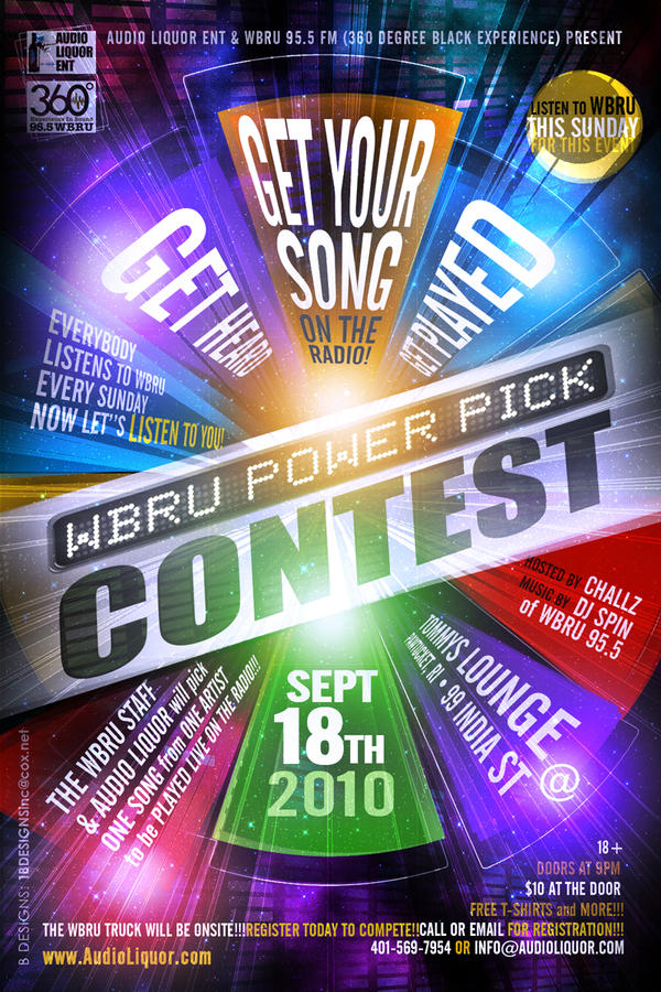 Contest Flyer By Anotherbcreation On Deviantart