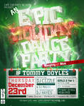 EPIC Holiday Party Flyer