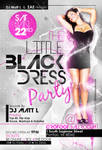 Black Dress Party Flyer