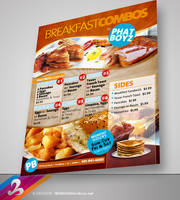 Breakfast Menu Flyer template by AnotherBcreation