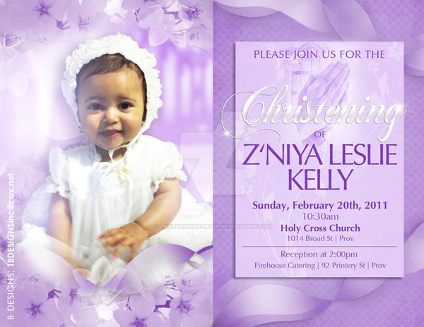 Christening Invitation Template By Anotherbcreation On Deviantart