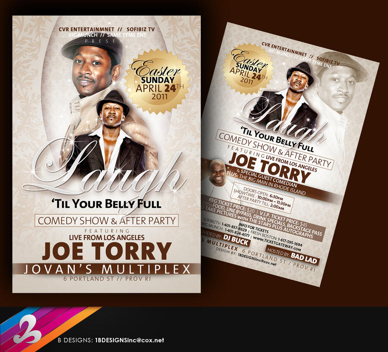 Joe Torry Live Flyer by AnotherBcreation