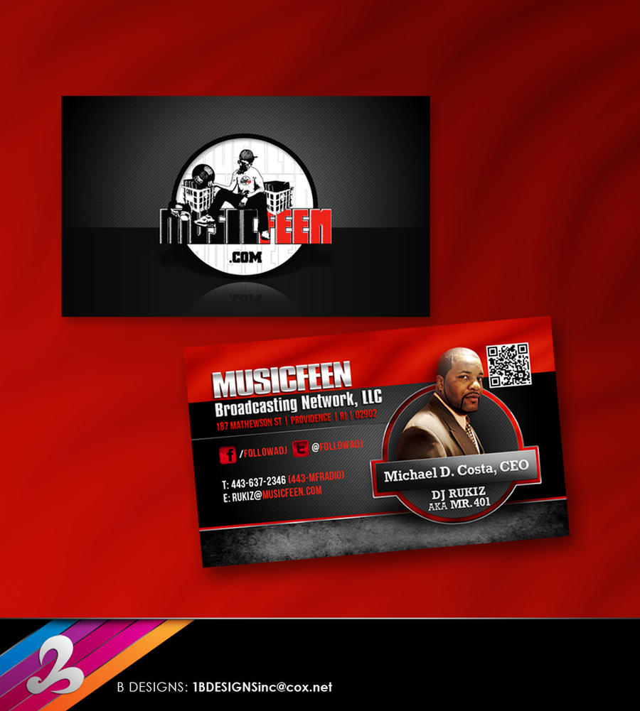 Musicfeen Business Card by AnotherBcreation