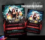 Thriller Night Flyer Template