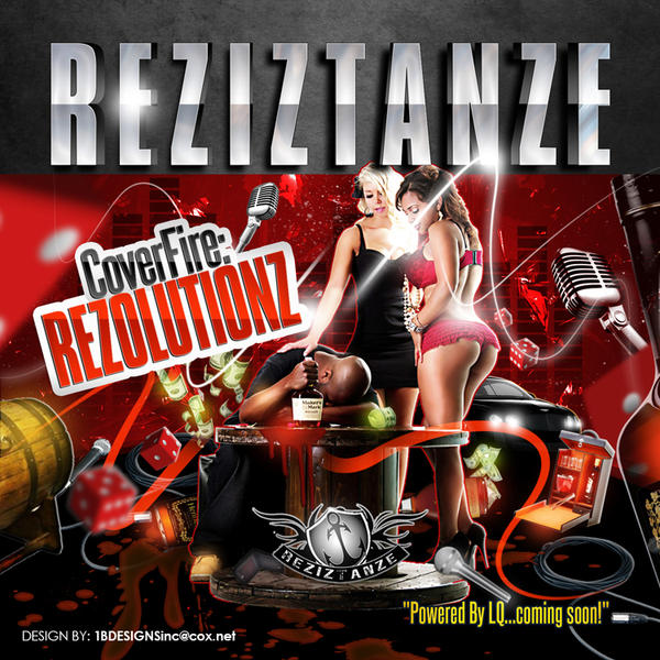 REZIZTANZE MIXTAPE COVER by AnotherBcreation