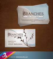 Branches Business Card by AnotherBcreation