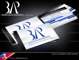 Logo and Business Card-BAP by AnotherBcreation