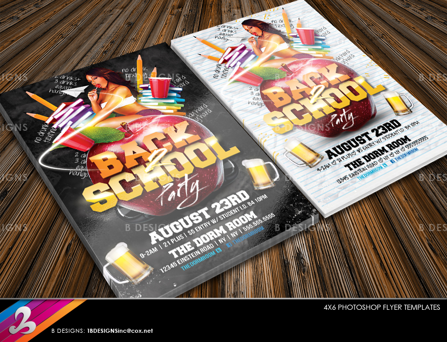 Back  School Flyer Template By Anotherbcreation On Deviantart