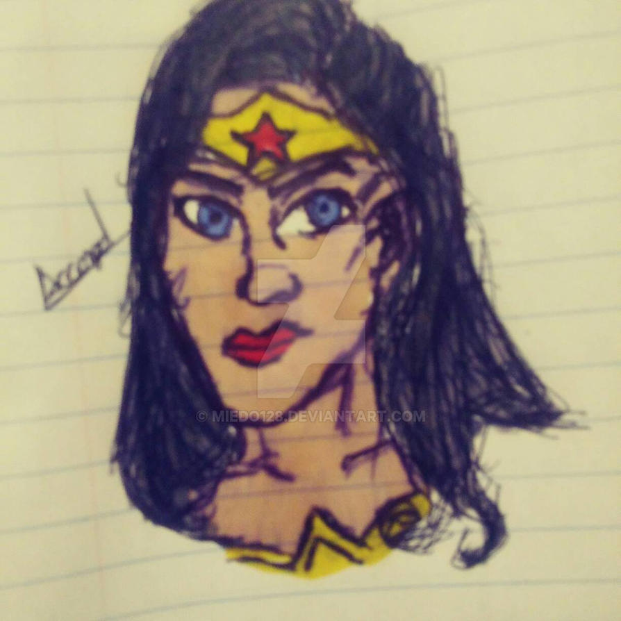 quick draw of wonder woman by miedo128