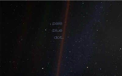 Pale Blue Dot Cover idea 1
