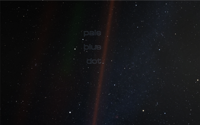 Pale Blue Dot Cover idea 2