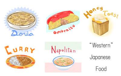 Western Japanese Food