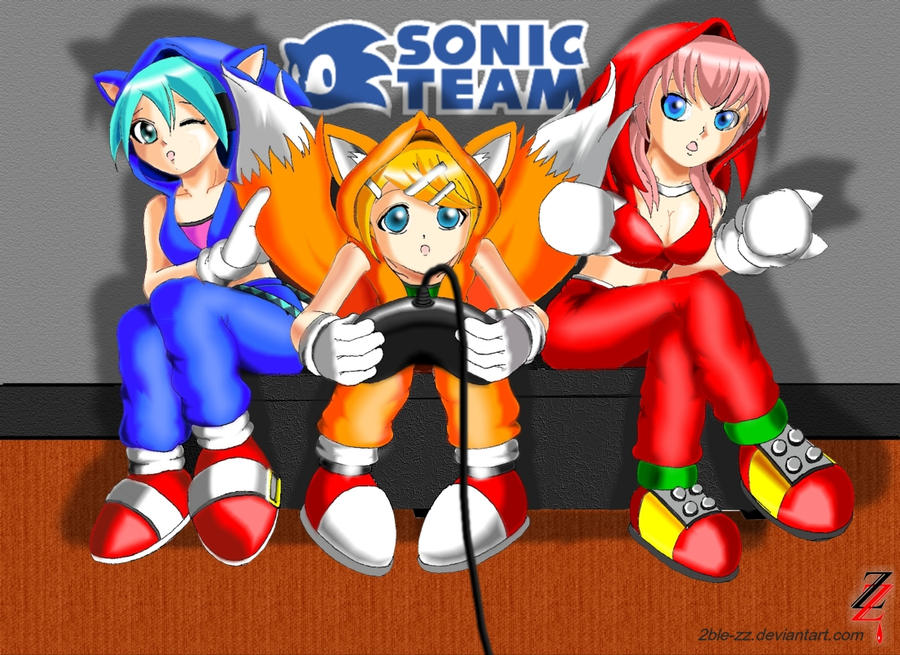 Vocaloid: Sonic Team by 2ble-ZZ