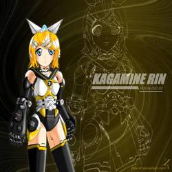 Kagamine Rin: Surrogate KR-02 by 2ble-ZZ