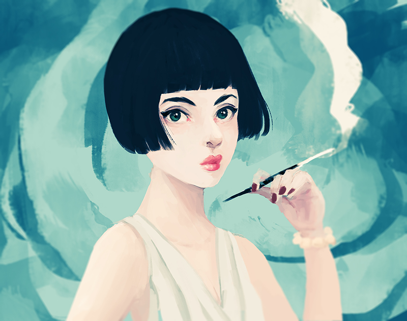 Vintage Girl by cennie