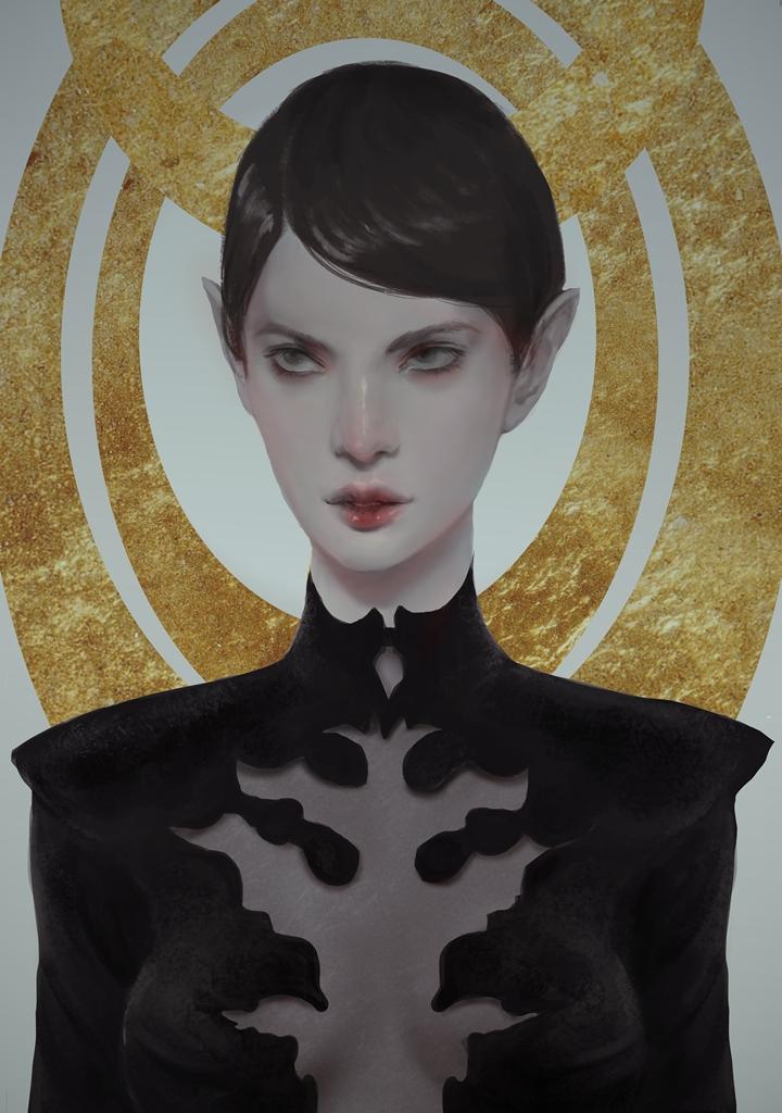 Golden Girl by cennie