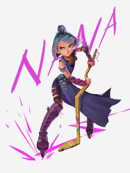 Nana the purple thunder by cennie