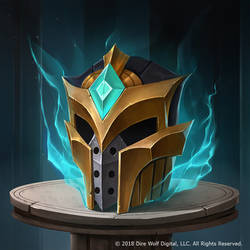 Eternal Card Game - Peacekeeper's Helmet