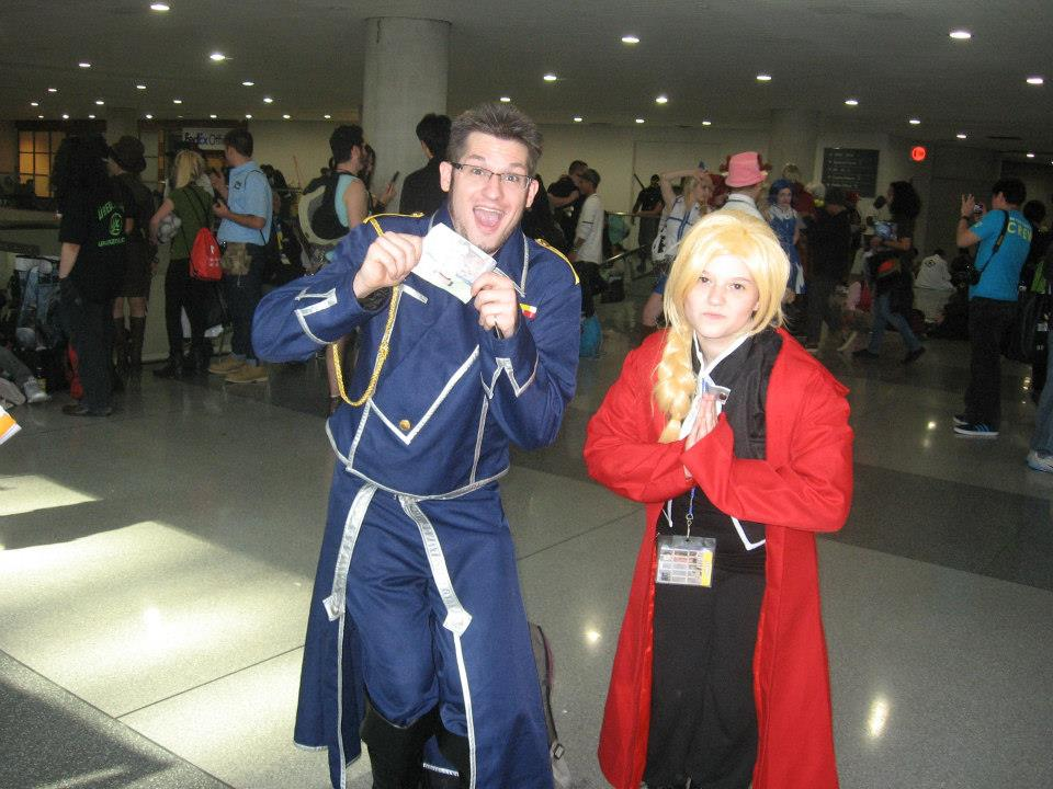Mayes and Edward Elric cosplay by atem15