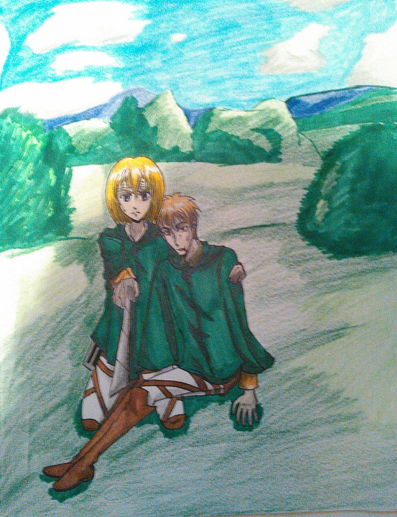 I'll protect you Jean by atem15