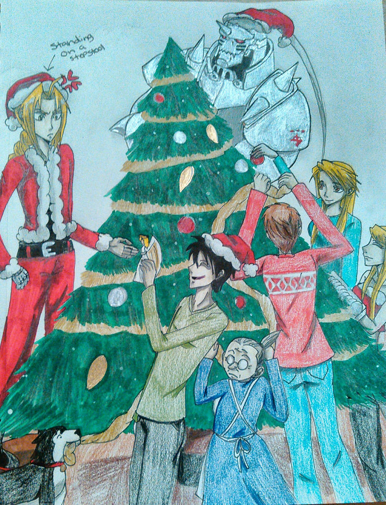 A Fullmetal Christmas by atem15