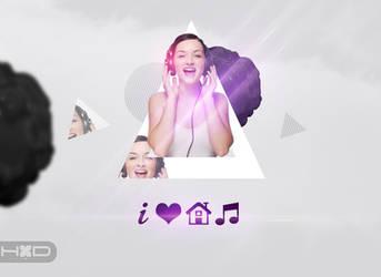 i Love House Music by lechham
